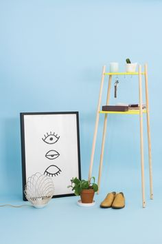 DIY rangement pour entrée, un meuble simple, design et épuré à partir de planches à découper et de manches à balais signé ADC x Le Bon Coin