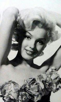 "Marilyn Monroe, publicity photo for ""Gentlemen Prefer Blondes"", 1953."