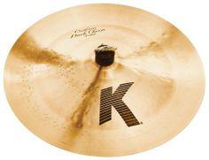 Zildjian K Custom 17-Inch Dark China Cymbal by Zildjian. $299.95. Traditional Finish