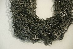 """AKIKO KURIHARA-JP «1000 G» necklace – « necklace consists on 1000 G letters, each one of 1 gram"""""""