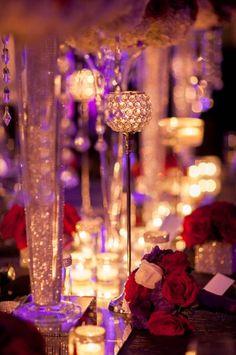 Glam Wedding Wedding Reception Photos on WeddingWire