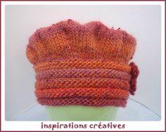 Chapeau d'hiver enfant au tricot