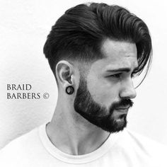 Mens Fade Haircuts – 54 Cool Fade Haircuts for Men and Boys Taper fade haircut for men Trendy Mens Hairstyles, Mens Medium Length Hairstyles, Hipster Hairstyles, Haircuts For Men, Cool Hairstyles, Hipster Haircut, Layered Hairstyles, Modern Haircuts, Braided Hairstyles