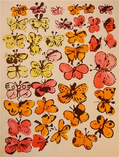 Happy Butterfly Day by Andy Warhol
