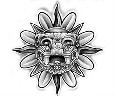 Aztec Tattoo Design Idea Design
