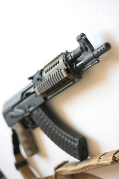 AK47 HellpupLoading that magazine is a pain! Get your Magazine speedloader today! http://www.amazon.com/shops/raeind