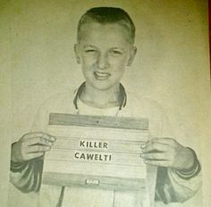 """Scott Cawelti was a Cedar Falls Record columnist. This police """"mug shot"""" was included with a column in which he mentioned my father, Capt. Al Riebe."""