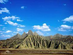 Miniature Mountains (Martian Mountains) of Chabahar, Iran (in Persian: کوههای مریخی چابهار) Iran Traveling Center irantravelingcent... #iran #travel #traveltoiran