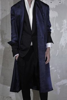 Haider Ackermann. Menswear. Spring 2014. Silky. Luxurious and Dramatic.