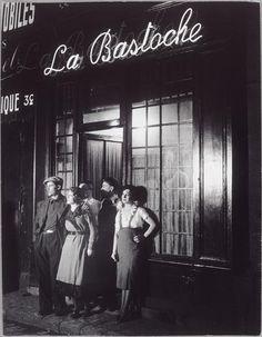 La Bastoche, un bar rue de Lappe