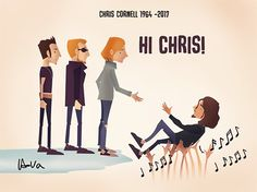 I miss them all, & their music never leaves me. Chris Cornell, Dope Music, Music Love, Music Is Life, Scott Weiland, Stone Temple Pilots, Courtney Love, Alice In Chains, Nirvana