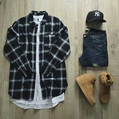 outfit grid trendy outfit grids for men to stay in style 4 - Dope Outfits, Casual Outfits, Men Casual, Fashion Outfits, Teen Swag Outfits, Swag Fashion, Gq Fashion, Womens Fashion, Fashion Menswear