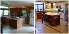 another mobile home kitchen makeover