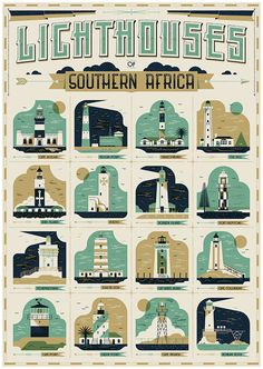 Lighthouses of Southern Africa on Behance