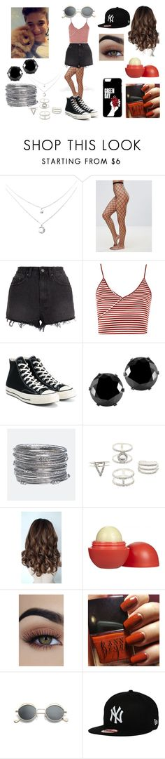 """Spring Park Picnic Date With Daniel Seavey"" by roxy-crushlings on Polyvore featuring ASOS, Ksubi, Topshop, Converse, West Coast Jewelry, Avenue, Charlotte Russe, Eos, DanielSeavey and whydontwe"