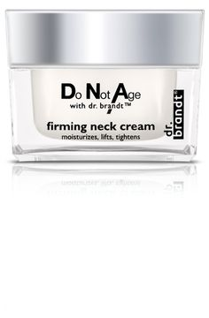Do Not Age with dr. brandt<sup>®</sup> firming neck cream