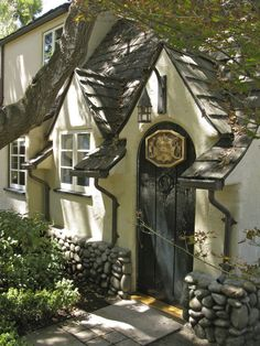 Could be in Carmel, CA, or on Lookout Mountain, TN, or any number of other places.  Wherever this cottage is, it is a lovely home.