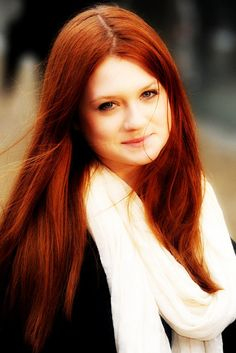 Bonnie Wright. Her and Karen Gillan both have gorgeous hair!
