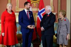 Crown Prince Haakon and Crown Princess Mette-Marit is currently making a 3 days official visit to Canada. On the first day of the visit, Crown Prince Haakon and Crown Princess Mette-Marit met with General Governor David Johnston of Canada and Mrs. Sharon Johnston at Rideau Hall on November 7, 2016 in Ottawa.