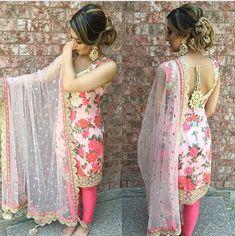 Punjabi suits patiala salwars sets bridal lehenga and sarees. designer sarees ,indian sari ,bollywood saris and lehenga choli sets. Indian Suits Punjabi, Punjabi Wedding Suit, Punjabi Dress, Indian Attire, Pakistani Dresses, Wedding Suits, Indian Dresses, Indian Wear, Indian Outfits