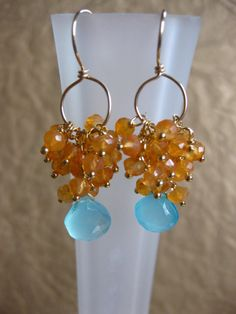 20 off  use coupon code 20off  cancun  earrings by puresentiment, $28.00