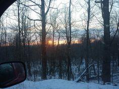 Sunrise on way to work @ SRL