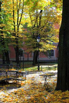 Kraków, Planty, Source: http://fotoodyseja.blogspot.com/2016/10/planty-od-barbakanu-do-paacu-sztuki.html?m=1