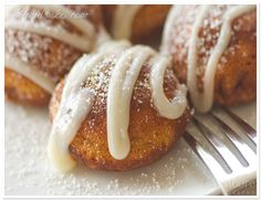 Pumpkin Pie Ebelskivers~~Just need the proper utensils....hmmm...where to find them...But  the recipe sounds amazing!