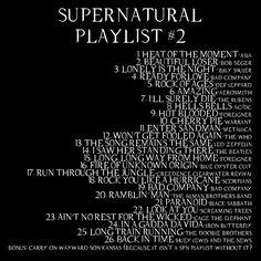 Supernatural Playlist 2 | Supernatural Music