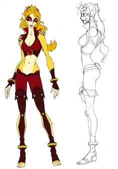 Cheetara concept 1 by DanNortonArt on DeviantArt Snarf Thundercats, Thundercats 2011, Thundercats Costume, Character Concept, Character Art, Concept Art, Character Design, Cartoon Costumes, Anime Style