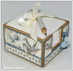 I think I will make something like this out of chipboard with somegG45 paper