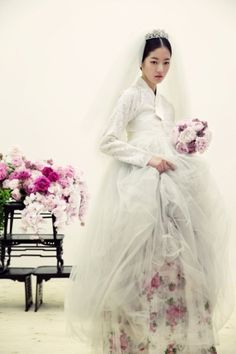 Hanbok - a Korean traditional dress, is made of two pieces: a ...