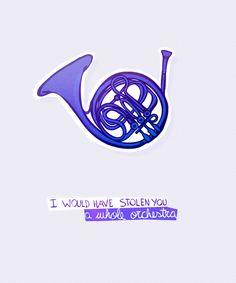 Por voce eu roubaria uma orquestra inteira