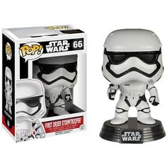 258d83c7c896 Star Wars  The Force Awakens First Order Stormtrooper Pop! Vinyl Figure