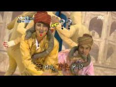 "Shinhwa Broadcast ""India Dance"" --- Absolute madness."