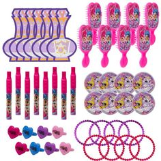 Shimmer and Shine Favor Pack 48pc