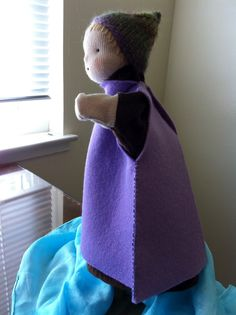 Waldorf glove puppet