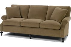 """Wesley Hall Furniture - Hickory, NC - PRODUCT PAGE - 1514-85 SOFA  OUTSIDE:L 83"""" D 37"""" H 35""""  INSIDE:L 68"""" D 21"""" H 18""""  SEAT:H 20"""" ARM H 24.5"""""""