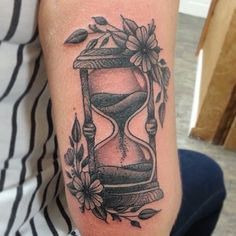 neo traditional hourglass tattoo - Google Search