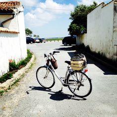Mon tit vélo.