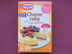 Dr. Oetker cheesecake, vegan Cheesecake, Breakfast Recipes, Good Food, Milk, Lunch, Foodies, Snacks, Desserts, Earth