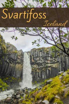 Svartifoss waterfall Iceland - Svartifoss Iceland