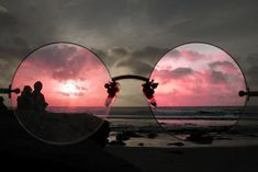 It never hurts to spend some time looking at life through rose colored glasses =)