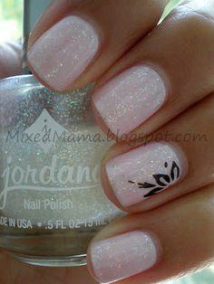 Sally Hansen Hard-Core Party + Jordana Crystal Glitter