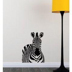B&W Zebra Wall Sticker