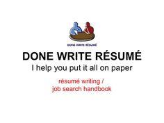 Done Write Résumé