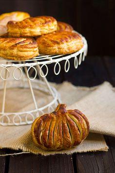 Yerbabuena en la cocina: Calabazas de hojaldre para Halloween