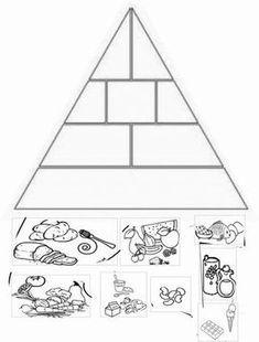 Atividades Com A Piramide Alimentar Piramide De Los Alimentos