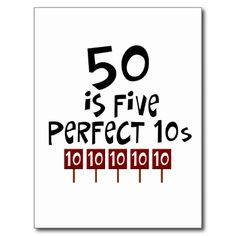 >>>Cheap Price Guarantee 50th birthday gifts, 50 is 5 perfect…