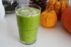 Grüner Smoothie um gegen die nahende Erkältung abzuwehren